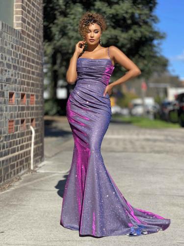 Jadore JX4010 Gown - Magenta