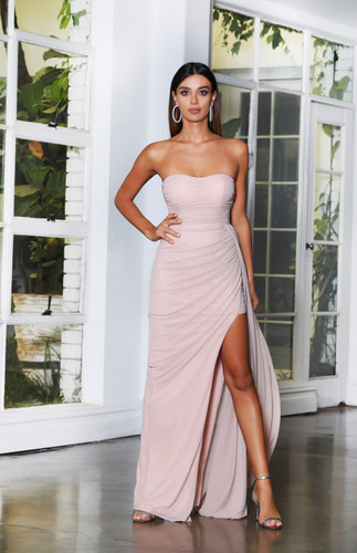 Jadore JX4043 Gown - Dusty Pink