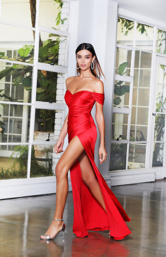 Jadore JX4058 Gown - Red