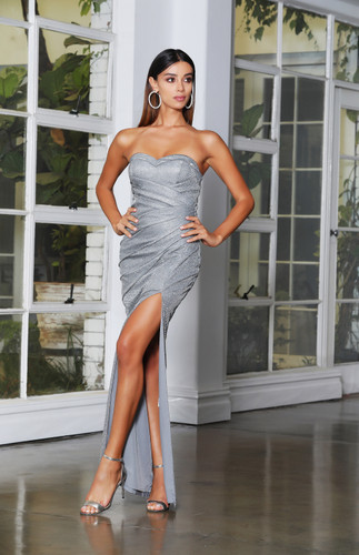 Jadore JX4078 Gown - Silver