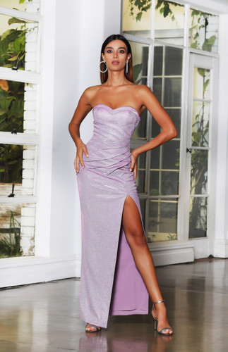 Jadore JX4078 Gown - Lilac