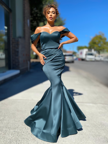 Jadore JX4079 Gown - Emerald