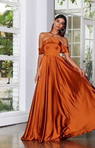Jadore JX4084 Gown - Rust