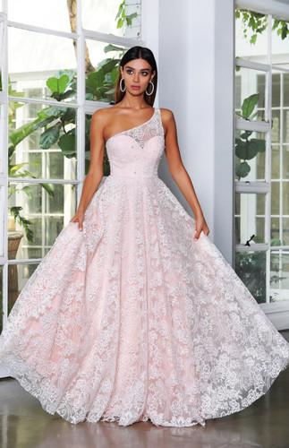Jadore JX4008 Gown - Pink