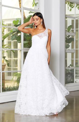 Jadore JX4008 Gown - White