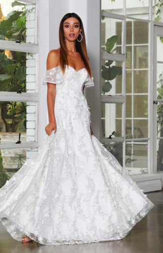 Jadore JX4009 Gown - Ivory