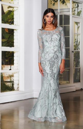 Jadore JX4013 Gown - Sage