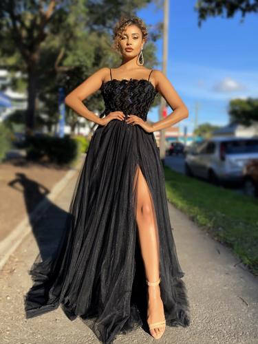 Jadore JX4057 Gown - Black
