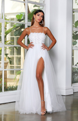 Jadore JX4057 Gown - Ivory
