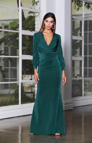 Jadore JX4068 Gown - Emerald