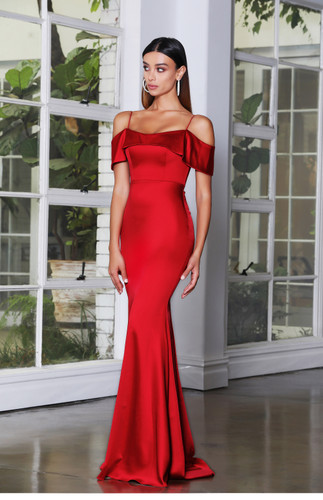 Jadore JX4083 Gown - Ruby