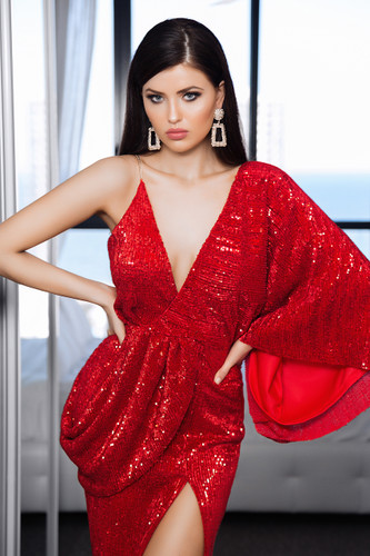 Avana Gown - Red