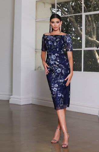 Jadore JX4066 Dress - Navy
