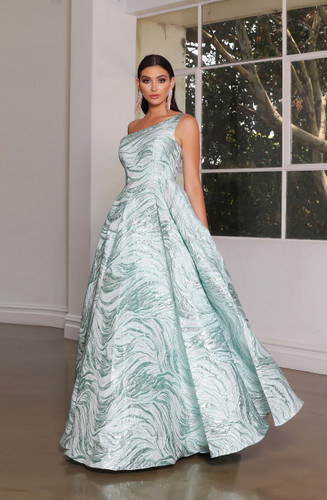 Jadore JX4087 Gown - Mint