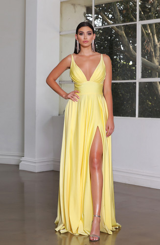 Jadore JX4050 Gown - Lemon