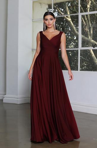 Jadore JX4034 Gown - Burgundy