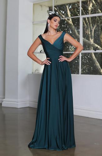 Jadore JX4034 Gown - Emerald