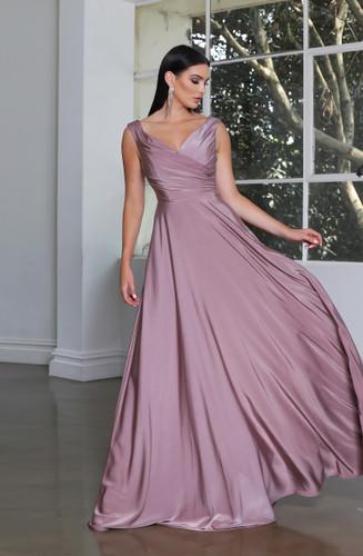 Jadore JX4034 Gown - Mocha