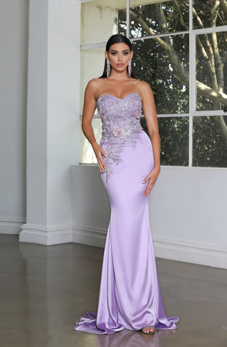 Jadore JX4004 Gown - Lilac