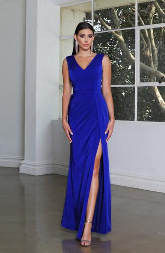 Jadore JX4047 Gown - Cobalt