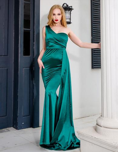 Mila Label Marona Gown - Emerald