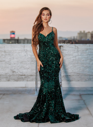 Portia & Scarlett PS21030 Gown - Emerald
