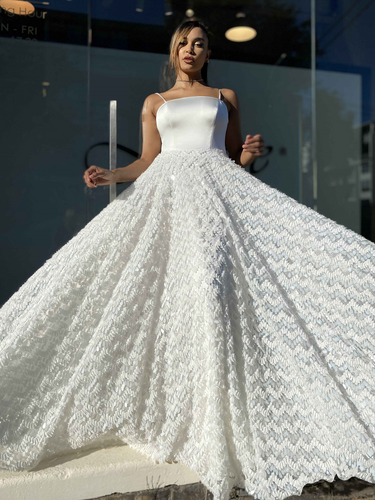 Jadore JX4056 Gown - Ivory