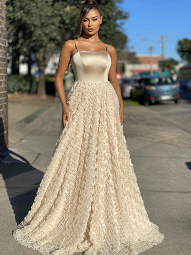Jadore JX4056 Gown - Champagne