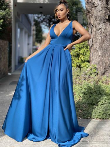 Jadore JX4055 Gown - Teal