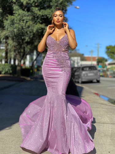 Jadore JX4076 Gown - Lilac