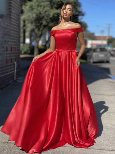 Jadore JX4070 Gown - Red