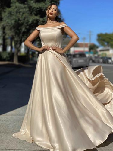 Jadore JX4070 Gown - Cream
