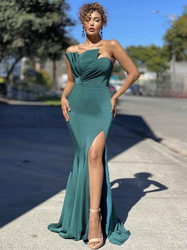 Jadore JX4046 Gown - Emerald