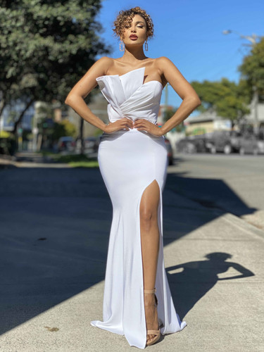 Jadore JX4046 Gown - Ivory