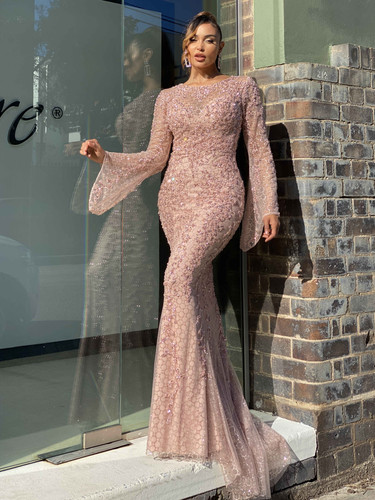 Jadore JX4014 Gown - Champagne