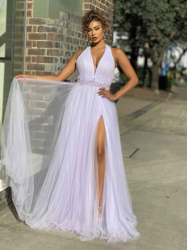 Jadore JX4045 Gown - Lilac