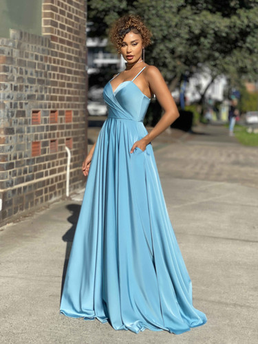 Jadore JX4033 Gown - Blue