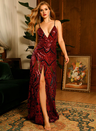 Kelsey Gown - Red