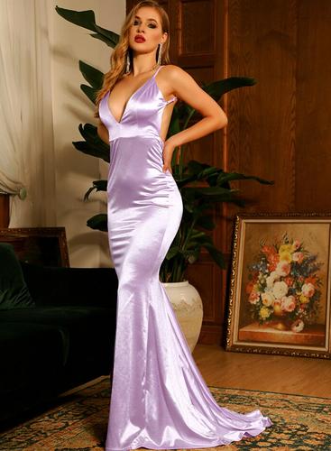 Mila Label Grace K Gown - Lavender