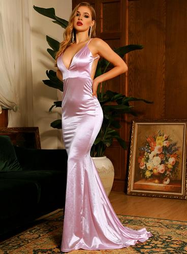 Mila Label Grace K Gown - Light Pink