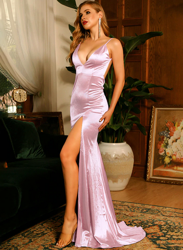 Mila Label Alisha Gown - Light Pink