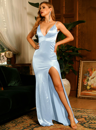 Mila Label Alisha Gown - Baby Blue