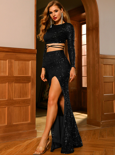 Shirley Two Piece - Black