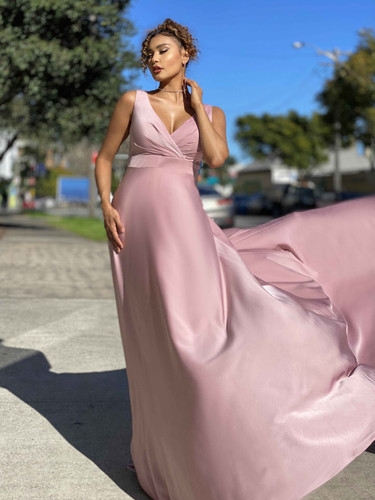Jadore JX4036 Gown - Dusty Pink