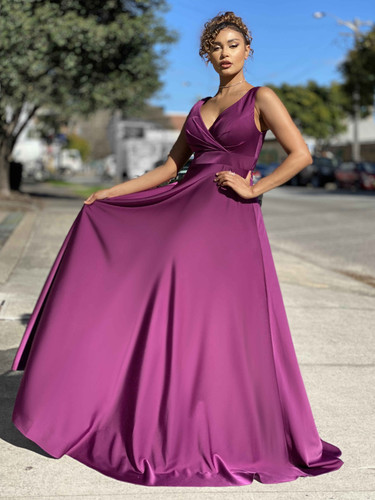Jadore JX4036 Gown - Purple