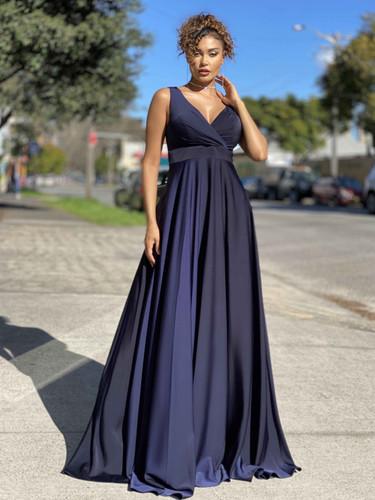 Jadore JX4036 Gown - Navy