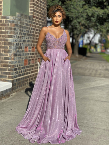 Jadore JX4040 Gown - Lilac