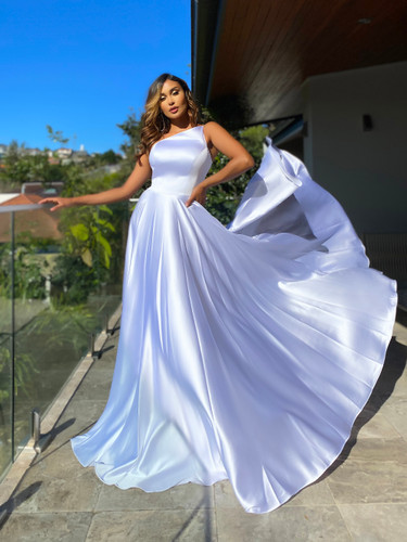 Jadore JX5059 Gown - White
