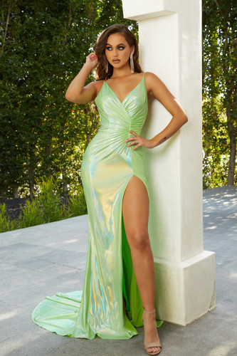 Portia & Scarlett PS21282 Gown - Lime