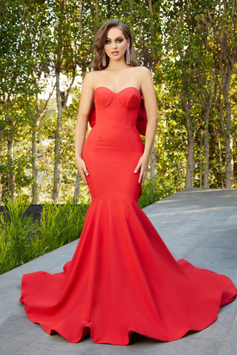 Portia & Scarlett PS21005 Gown - Red